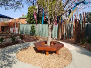 New toddler and nursery outdoor area 2 - Sept 2017