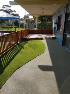 New toddler and nursery outdoor area 4 - Sept 2017