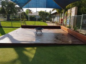New toddler and nursery outdoor area 5 - Sept 2017