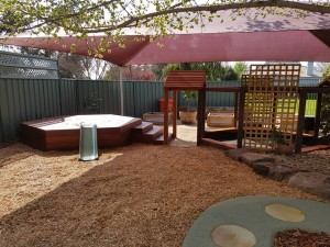 New toddler and nursery outdoor area 6 1 - Sept 2017